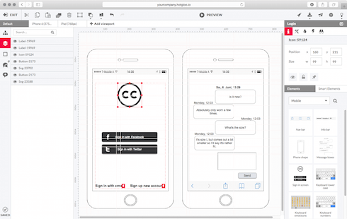 the most ambitious interactive wireframe tool you have ever worked with - Website Prototyping Tool
